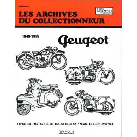 PEUGEOT 125-150-175/250 CC (1949-1955) - Les Archives du Collectionneur n° 10
