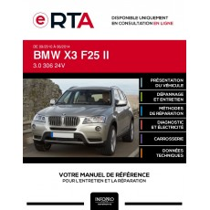 E-RTA Bmw X3 II BREAK 5 portes de 09/2010 à 06/2014
