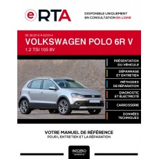 E-RTA Volkswagen Polo V HAYON 5 portes de 06/2010 à 02/2014