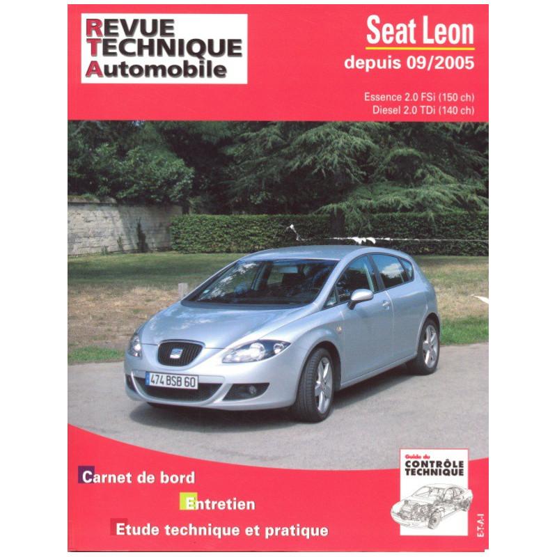 revue technique seat leon ii depuis 09 05 rta site officiel etai. Black Bedroom Furniture Sets. Home Design Ideas