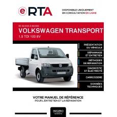 E-RTA Volkswagen Transporter V PICKUP 2 portes de 06/2003 à 08/2009
