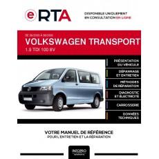 E-RTA Volkswagen Transporter V COMBI 4 portes de 06/2003 à 08/2009