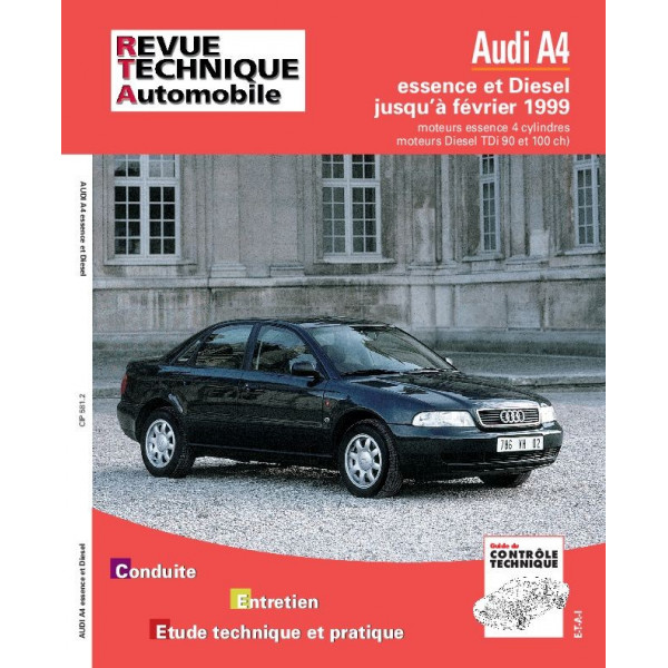 Revue Technique Audi a4 essence diesel