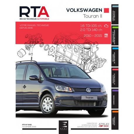 RTA 842 VOLKSWAGEN TOURAN II (2010 à 2015)