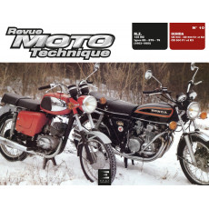 RMT 10 HONDA CB 500 - CD 500 K1-K2 - CB 500 F1-K3 et M.Z. 125 MZ (1963 à 1980)