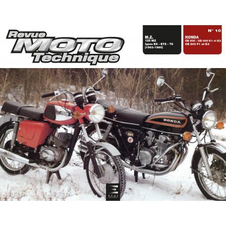 RMT 10 HONDA CB500 et CD500 K1/K2/K3/G1