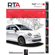 RTA 843 FIAT 500 II Phase 2 (2015 à ce jour)