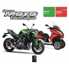 RMT 189 PEUGEOT METROPOLIS (2013-2016) et KAWASAKI Z900 (2017-2018)