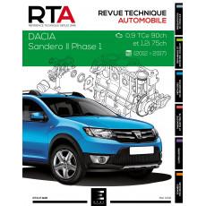 RTA 826 DACIA SANDERO II PHASE 1 (2012 à 2017) - Essence