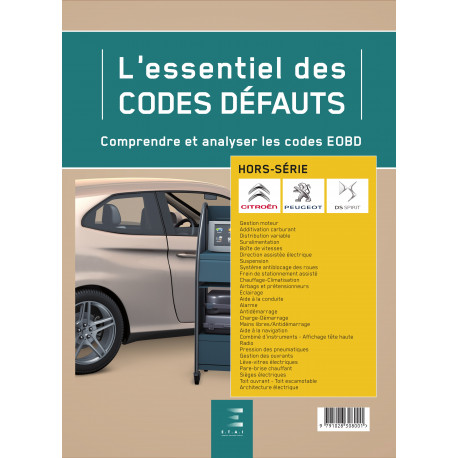 L'ESSENTIEL DES CODES DEFAUTS PSA