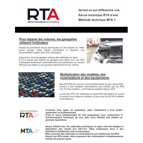 MTA et RTA