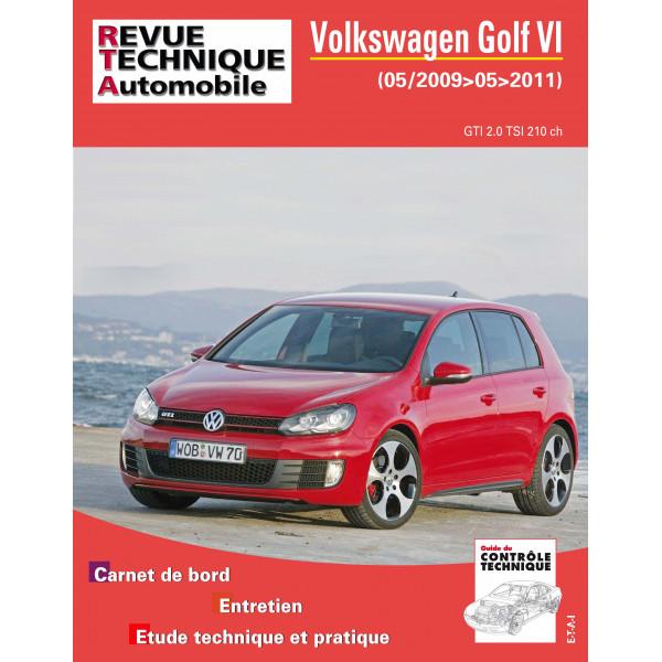 revue technique volkswagen golf vi 2 0 gti moteur cczb rta site officiel etai. Black Bedroom Furniture Sets. Home Design Ideas