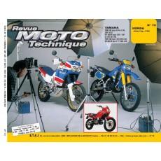 RMT 72.2 YAMAHA 125 TZR/DT/TDR (1987 à 1994) et HONDA XRV 650 AFRICA TWIN (1988)
