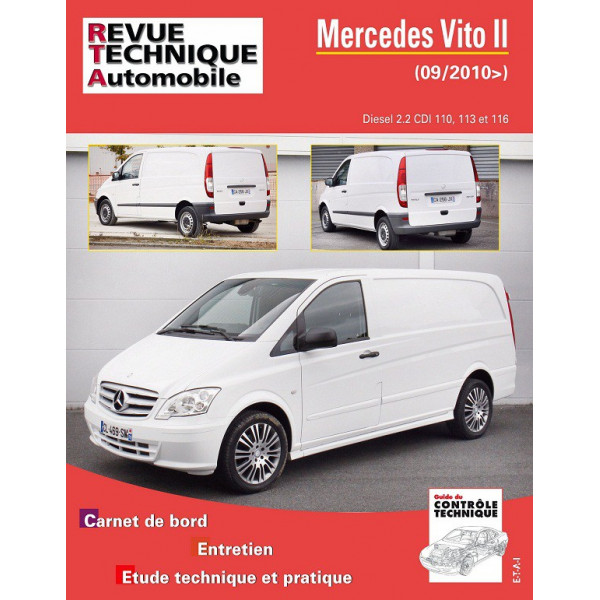 revue technique mercedes vito 639 ii rta site officiel etai. Black Bedroom Furniture Sets. Home Design Ideas