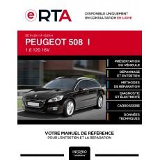 E-RTA Peugeot 508 I BREAK 5 portes de 01/2011 à 12/2014