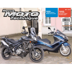 RMT 171 - Suzuki DL650 et Piaggio X10 125