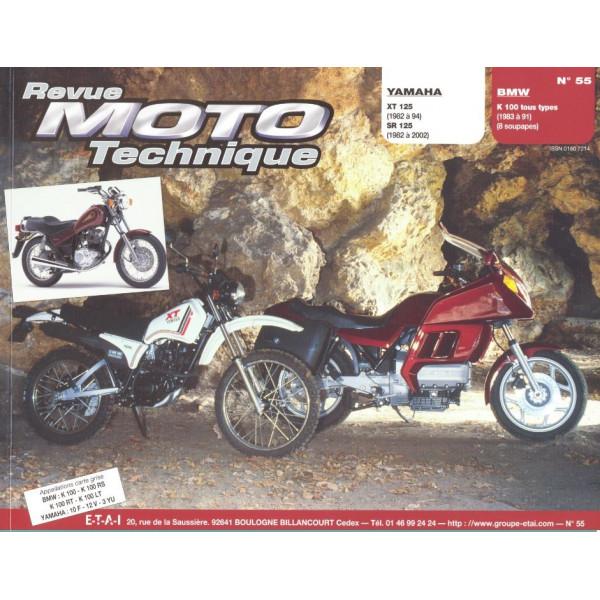 Revue Technique Rmt Yamaha 125 xt sr et BMW k100 tous types