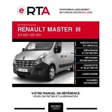 E-RTA Renault Master III COMBI 4 portes de 04/2010 à ce jour