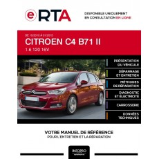 E-RTA Citroen C4 II HAYON 5 portes de 10/2010 à 01/2015
