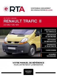 E-RTA Renault Trafic II COMBI 4 portes de 07/2001 à 08/2006