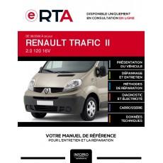 E-RTA Renault Trafic II COMBI 5 portes de 08/2006 à ce jour