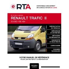 E-RTA Renault Trafic II COMBI 5 portes de 07/2001 à 08/2006