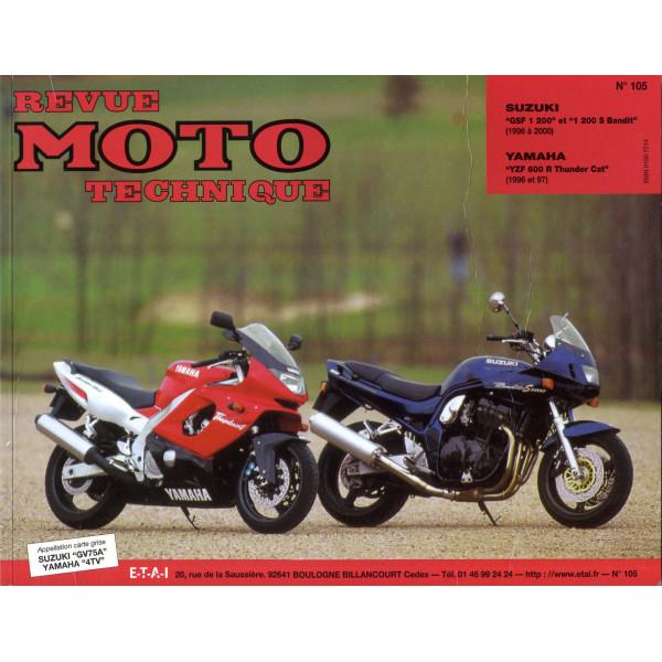 Revue Technique Rmt Suzuki 1200 bandit et Yamaha yzf 600