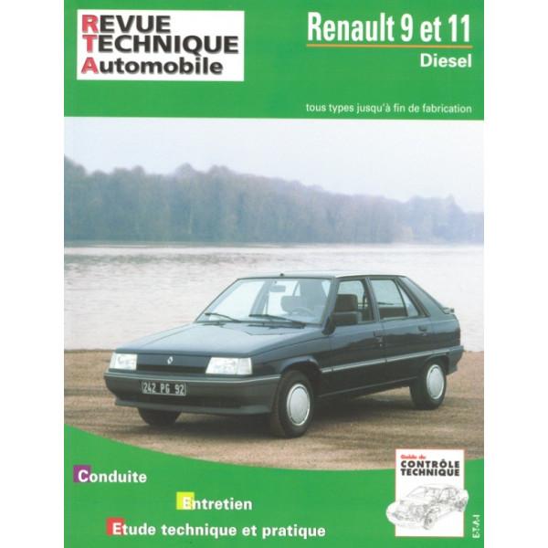 Revue Technique Renault 9 et 11 diesel