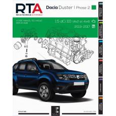 RTA PDF 831 DACIA DUSTER I PHASE 2 (2013 à 2017)