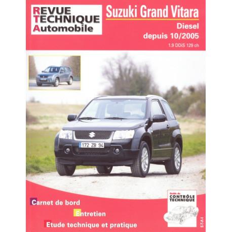 RTA PDF B717.6 SUZUKI-SANTANA GRAND VITARA II PHASE 1 (2005 à 2009)