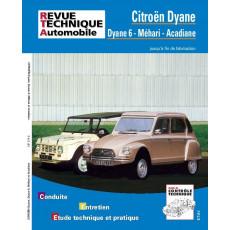 PACK RTA 279.6 CITROEN DYANE/MEHARI/ACADIANE (1970 à 1988) + PDF