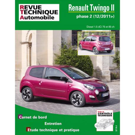 RTA PDF B785.5 RENAULT TWINGO II PHASE 2 (2011 à 2014) - Diesel