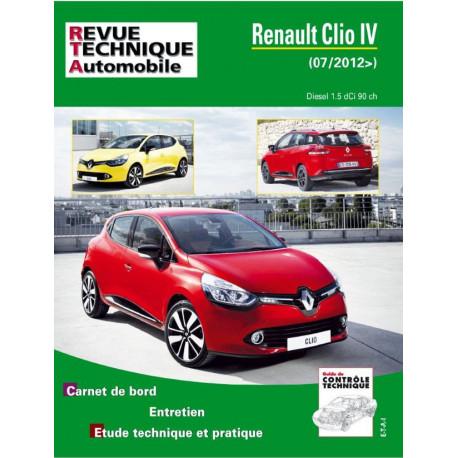 RTA PDF B783.5 RENAULT CLIO IV PHASE 1 (2012 à 2016)