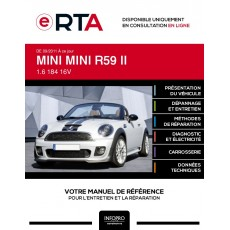 E-RTA Mini Mini II CABRIOLET 2 portes de 09/2011 à ce jour