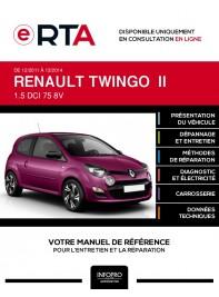E-RTA Renault Twingo II HAYON 3 portes de 12/2011 à 12/2014