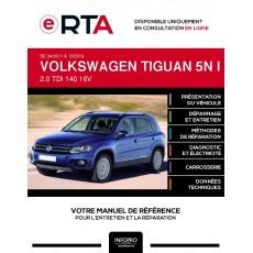 E-RTA Volkswagen Tiguan I BREAK 5 portes de 04/2011 à 12/2016