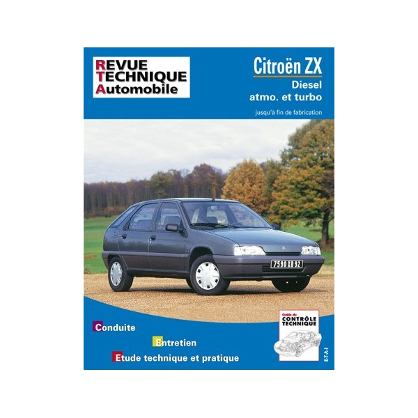 Revue Technique Citroen zx 2