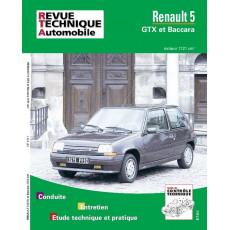 PACK RTA 518.1 RENAULT SUPER 5 GTX et BACCARA (1984 à 1996) + PDF
