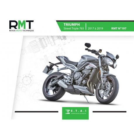 RMT 197 TRIUMPH Street Triple (2017 à 2019)