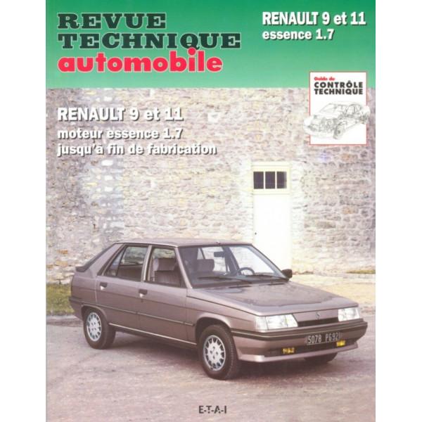 Revue Technique Renault 9 et 11 1721