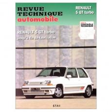 RTA PDF 464.5 RENAULT 5 GT Turbo (1984 à 1996)