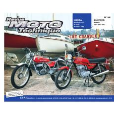 RMT 26 HONDA CB125 (1977 à 1988) et BULTACO SHERPA 125/250/350
