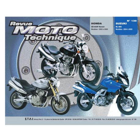 Honda CB 600F HORNET et DL 650