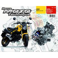 RMT 179 HONDA MSX 125 (2013 à 2015) et HONDA MOTEUR NC700-750DCT (2012 à 2015)