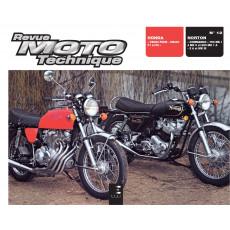 RMT 12 HONDA CB 350-400 et NORTON COMMANDO MK 750-850