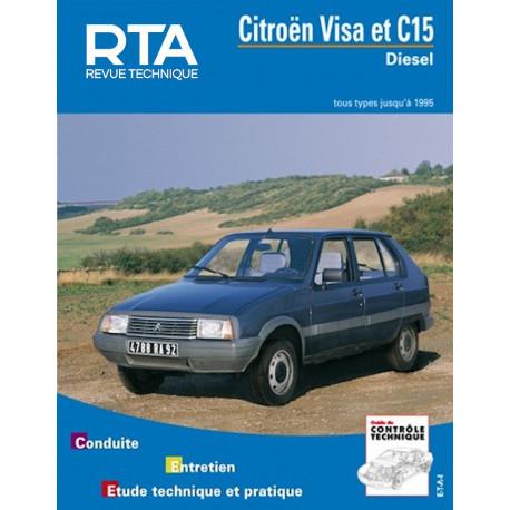 CITROËN VISA et C15 Diesel