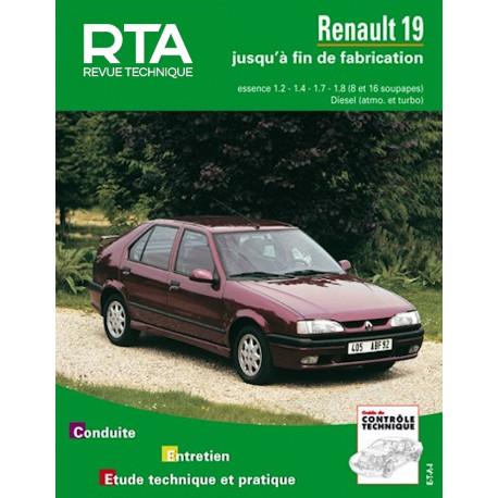 RTA 700.3 RENAULT 19 (1988 à 1997)