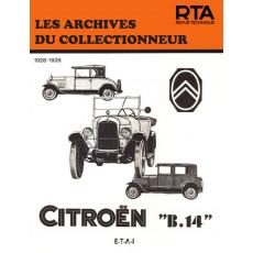 CITROEN B 14 (1926/1928) - Les Archives du Collectionneur n°15