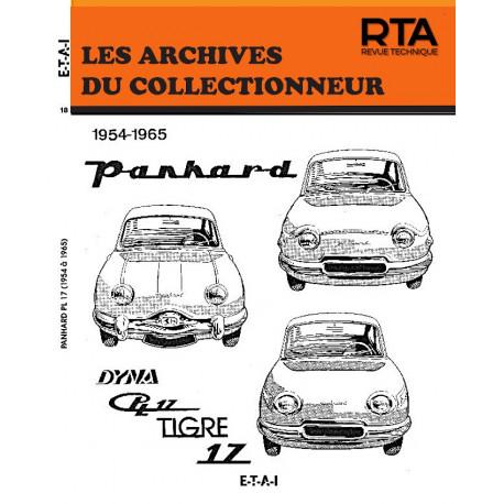 PANHARD DYNA Z, PL 17 et TIGRE 17 (54-65) - Les Archives du Collectionneur n°18