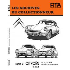 CITROËN DS19-20-21 (66-fin) TOME 2 - Les Archives du Collectionneur n°31